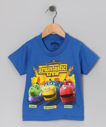 Royal 'Chuggington Traintastic Crew' Tee - Toddler