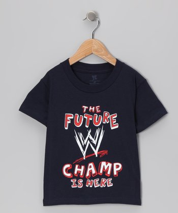 Navy 'Future WWE Champ' Tee - Toddler