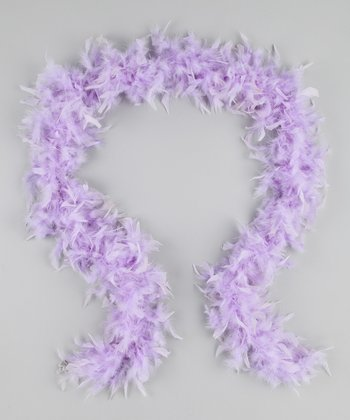 Lavendar Feather Boa