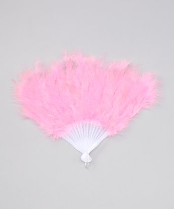 Light Pink Feather Fan