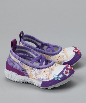 Purple Butterfly Sneaker