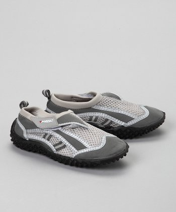 Gray Two-Tone Water Shoe