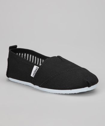 Black Classic Slip-On Shoe