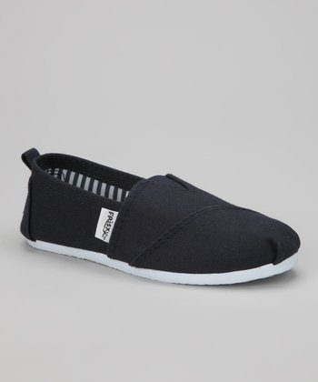 Navy Classic Slip-On Shoe