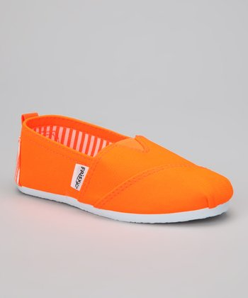 Orange Bright Slip-On Sneaker