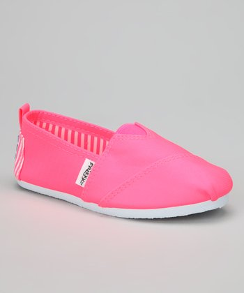 Pink Bright Slip-On Sneaker