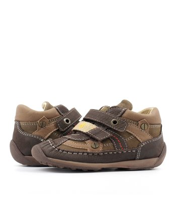 Brown Double Strap Shoe