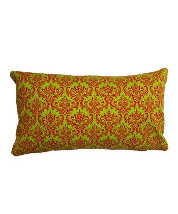 Red & Green Regal Rectangle Pillow
