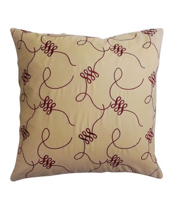 Figure Eight Down Square Pillow