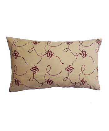 Figure Eight Down Rectangle Pillow