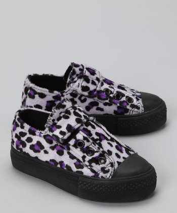 Royal Purple Cheetah Sneaker
