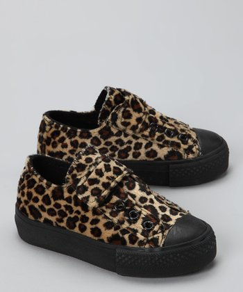 Brown Cheetah Sneaker
