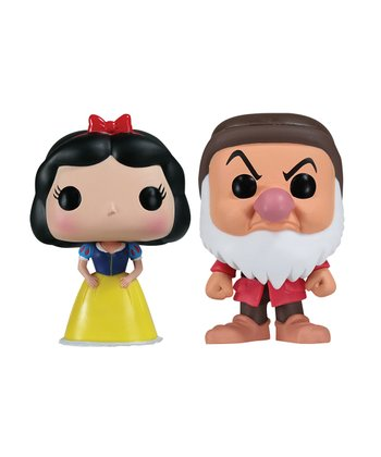 Snow White & Grumpy Mini POP Vinyl Figurine Set