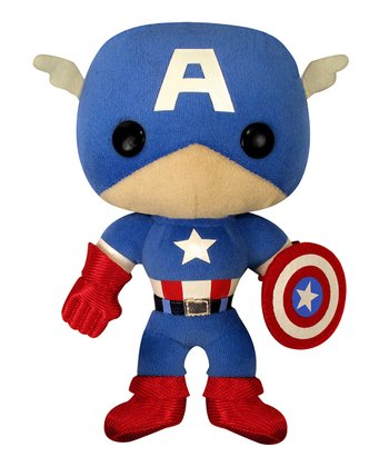 Classic Captain America Plush Toy