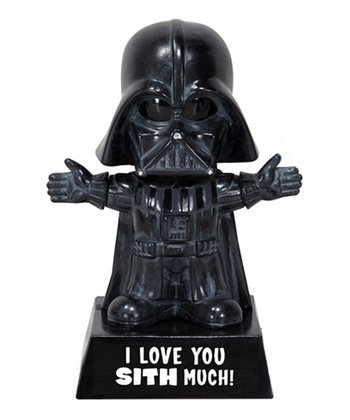 'I Love You Sith Much!' Darth Vader Wacky Wisecrack Bobblehead
