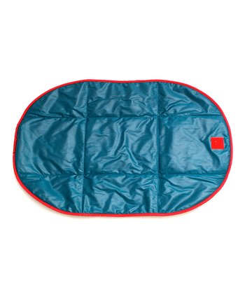 Peacock Blue Changing Pad