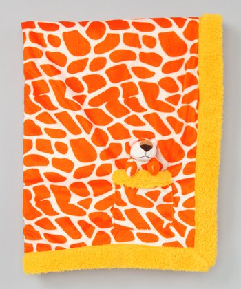 Yellow Pet Pal Tiger & Stroller Blanket