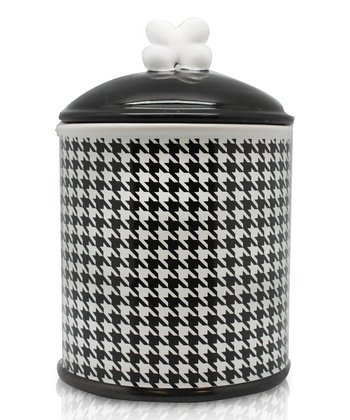 Houndstooth Treat Jar