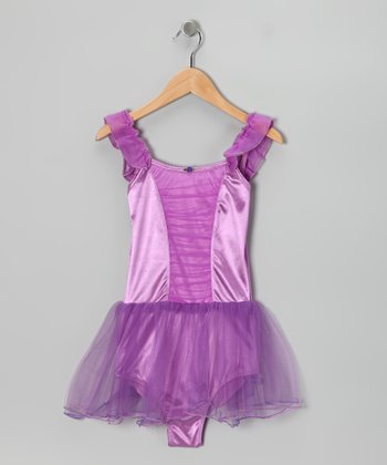 Iris Orchid Party Skirted Leotard - Toddler & Girls
