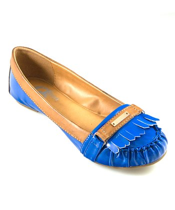 GC Shoes Blue Clarissa Loafer