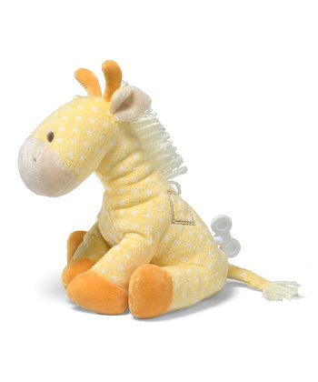 Lolly Giraffe Waggie Keywind Musical Plush Toy