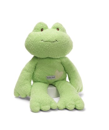 Baby Love Leapie Frog Plush Toy