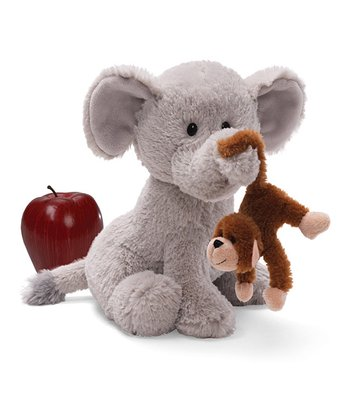 'What Would I Do Without You?' Elephant Plush Toy