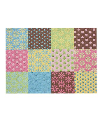 Preppy Patchwork Rug