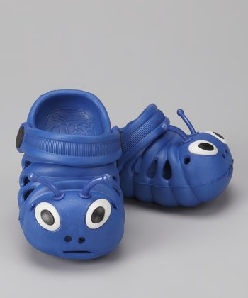 Dark Blue Critter Clog