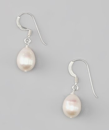 Silver & Freshwater Pearl Earrings