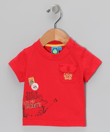 Poinsettia 'Treasures' Tee - Infant