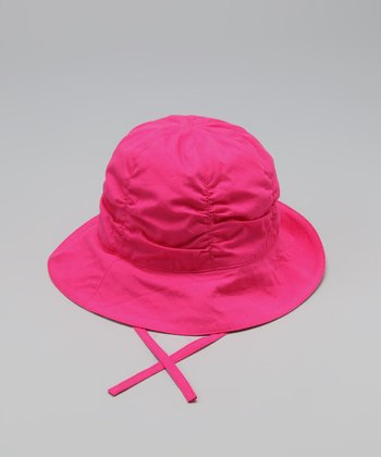 Fuchsia & Purple Plaid Sunhat