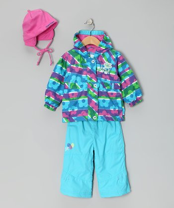 Blue Atoll Raincoat Set - Infant