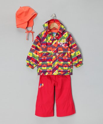 Teaberry Raincoat Set - Infant