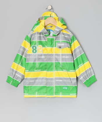 Aurora Stripe Raincoat - Infant & Toddler