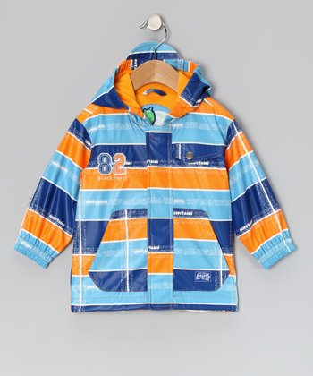 Zinnia Stripe Raincoat - Infant & Toddler