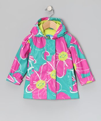 Baltic Flower Raincoat - Infant