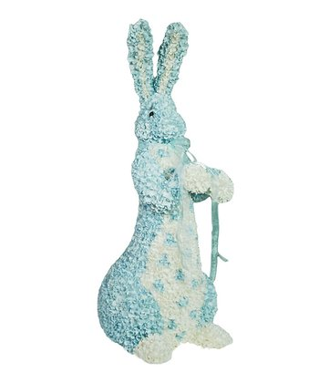 Blue Bow Rabbit