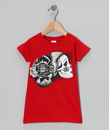 Red Drop Dead Gorgeous Tee - Toddler & Girls