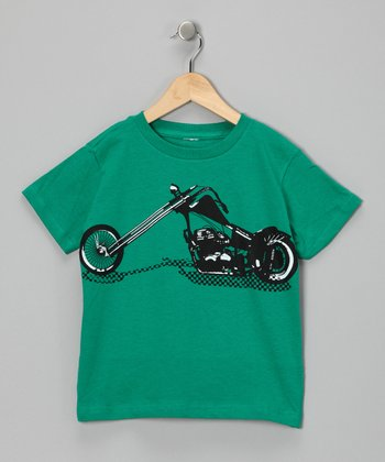 Green Chopper Tee - Toddler & Boys