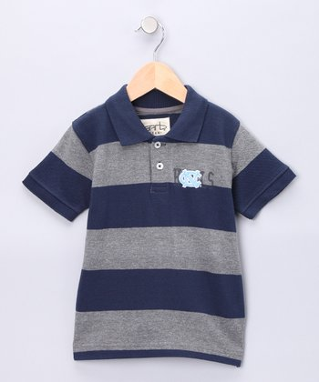 Navy North Carolina Evan Polo - Infant & Toddler