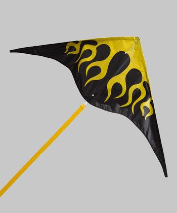 Black Sky Fire Kite