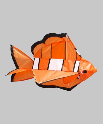 3-D Clown Fish Kite
