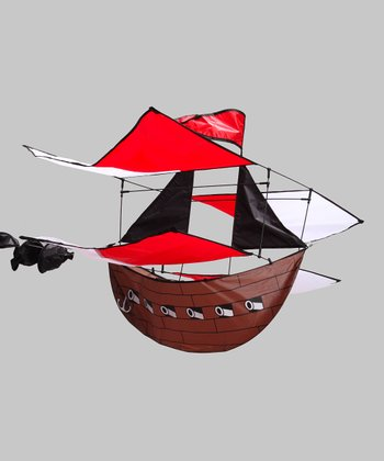 3-D Pirate Ship Kite