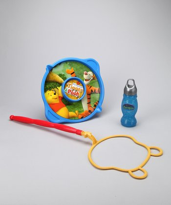Pooh's Incredibubble Wand & Bubble Solution