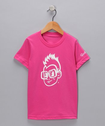 Fuchsia Gerry Tee - Toddler & Kids