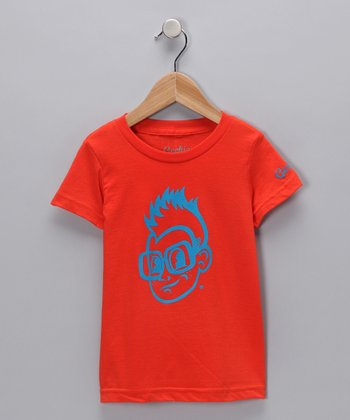 Orange Gerry Tee - Toddler & Kids