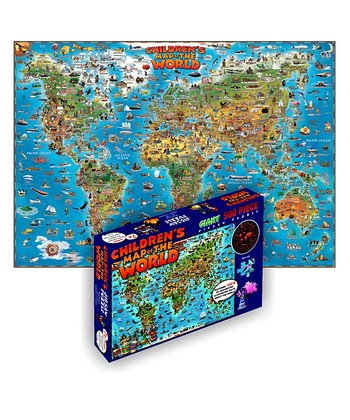 Children's World Map Puzzle
