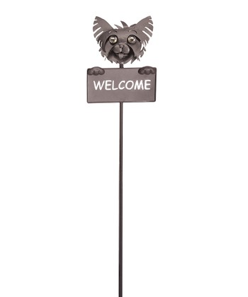 Georgetown Yorkie Welcome Sign