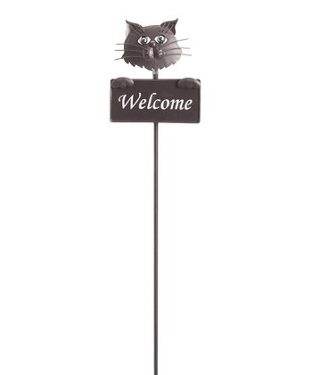 Georgetown Stray Cat Welcome Sign